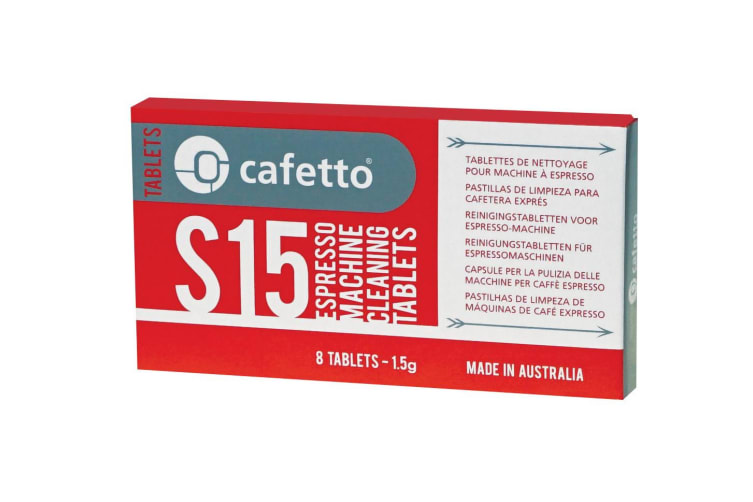 16 Cafetto S15 Espresso Machine Cleaning Tablets 16