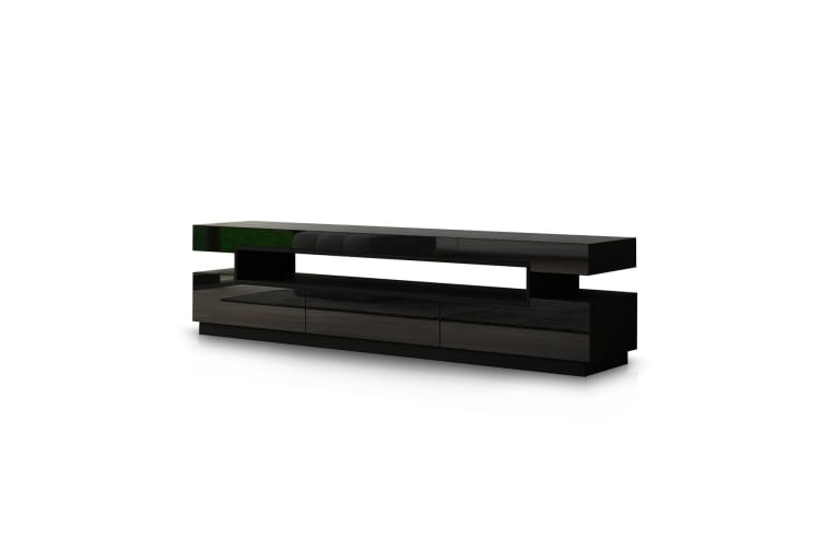 160cm TV Bench Table Stand Television Cabinet Entertainment Unit 3 Drawers
