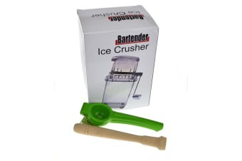 Summer Ice Pack - Includes - 1 Ice Crusher 1 Lime Squeezer And 1 20cm Muddler