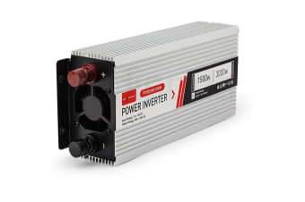 GENPOWER Pure Sine Wave 1500W/3000W 12V/240V Power Inverter Caravan Boat CarPlug