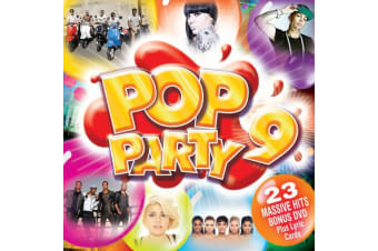 Various – Pop Party 9 BRAND NEW SEALED MUSIC ALBUM CD - AU STOCK