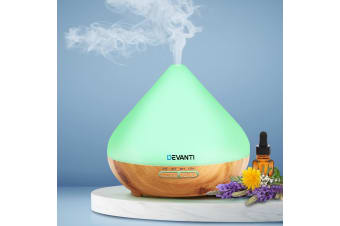 Devanti Ultrasonic Aroma Aromatherapy Diffuser LED Oil Air Humidifier Purifierl