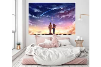 3D Your Name 293 Anime Wall Stickers Self-adhesive Vinyl, 80cm x 80cm(31.5'' x 31.5'') (WxH)