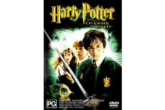 Harry Potter And the Chamber of Secrets - Region 4 Rare- Aus Stock Preowned DVD: DISC LIKE NEW