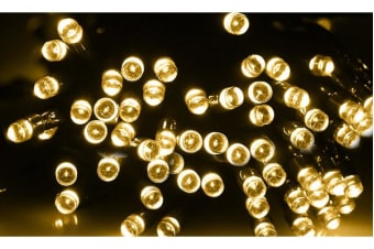 400LED 42m Solar Power Thicker String Light WARM WHITE