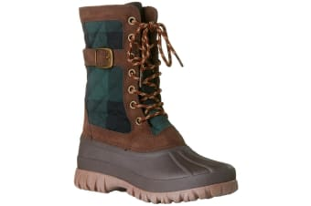 Rojo Women's Snow Side Tracked Boots Size 10/41