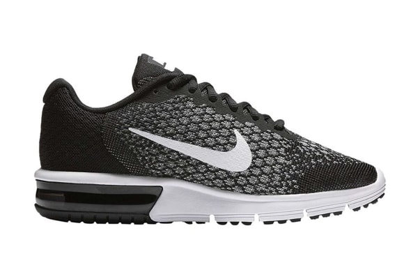 aba93f16926 Nike Women s Air Max Sequent 2 Running Shoe (Black Dark Grey White ...
