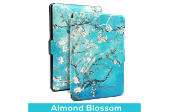 Quality Colorful Painting Leather Cover for Kindle Paperwhite 1/2/3-Blossom
