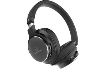 Audio-Technica ATH-SR5BT ATHSR5BT BK On Ear High Resolution Bluetooth Wireless