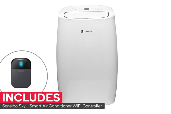 Levante Supacool 4.1kW 14,000 Btu Portable Air Conditioner with FREE Sensibo Sky Smart Controller