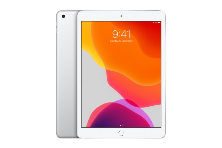 Apple iPad 2019 (128GB, Cellular, Silver)