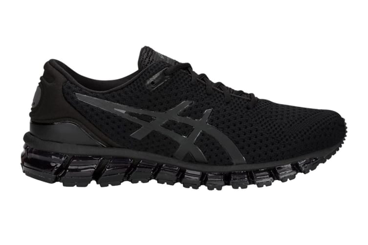 new style 198c7 09a29 ASICS Men's Gel-Quantum 360 KNIT 2 Running Shoe (Black/Black, Size 7.5)