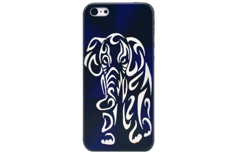 For iPhone 5C Case Elephant Pattern Frosted Durable High-Quality Shielding Cover