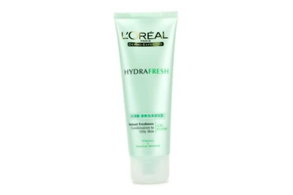 L'Oreal Dermo-Expertise HydraFresh Instant Freshness Gel Foam (Combination to Oily Skin) (100ml/3.3oz)