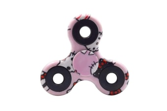 3D Alloy Fidget Hand Finger Spinner EDC Focus Stress Reliever Toys Kids Adults - Hello Kitty