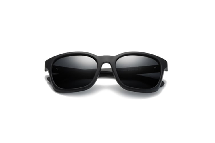 Polarized Cool Men Outdoor Sports Sunglasses - Black