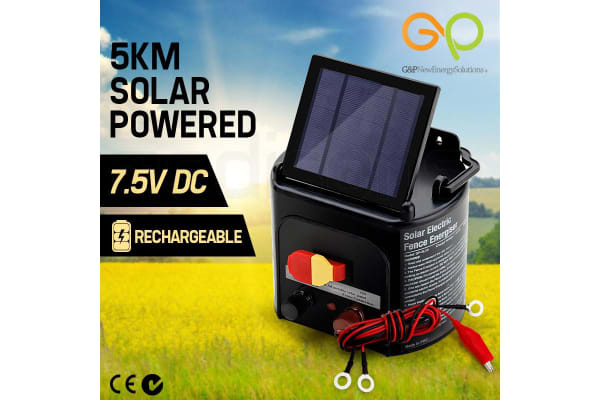 Solar Powered 5km Electric Fence - GP-SL05