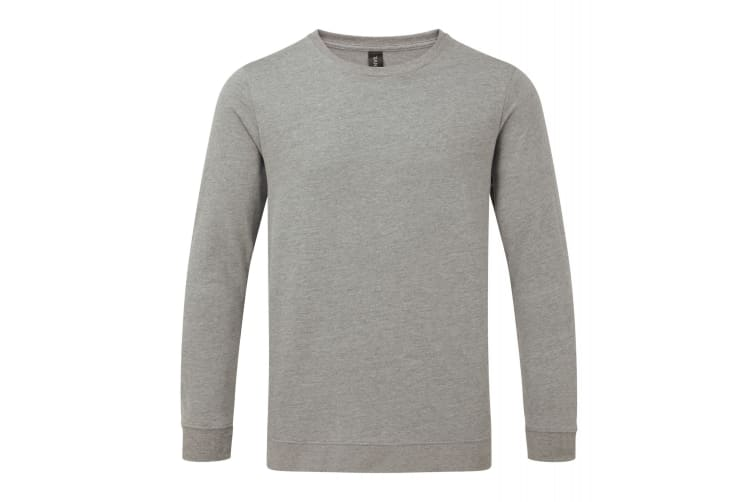 Anvil Unisex Light Terry Crew Sweater (Heather Graphite) (S)