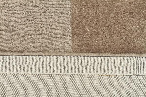 Wool Hand Tufted Rug - Box Taupe - 320x230cm