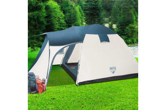 Bestway 8 Person Family Camping Dome Tent Canvas Swag Hiking Outdoor Beach Tent