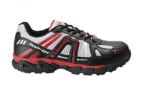 King Gee Men's Comp-Tec G14 Sport Safety Shoe (Black/Red)