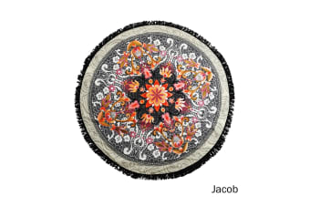 Round Summer Towel with Tassels Jacob by Home Innovations