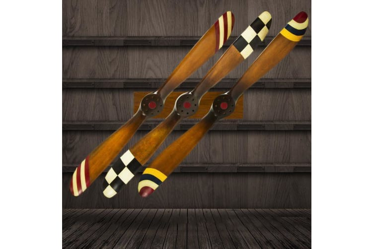 Barnstormer Wooden Airplane Propellers 120cm - Red & White Stripes
