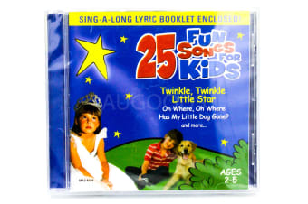 25 Fun Songs for Kids BRAND NEW SEALED MUSIC ALBUM CD - AU STOCK