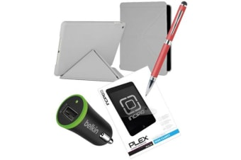Generic Essential Bundle Pack B  for iPad 9.7  (5th & 6th Gen. 2017-2018 Model )  & iPad  Air 1 (w/