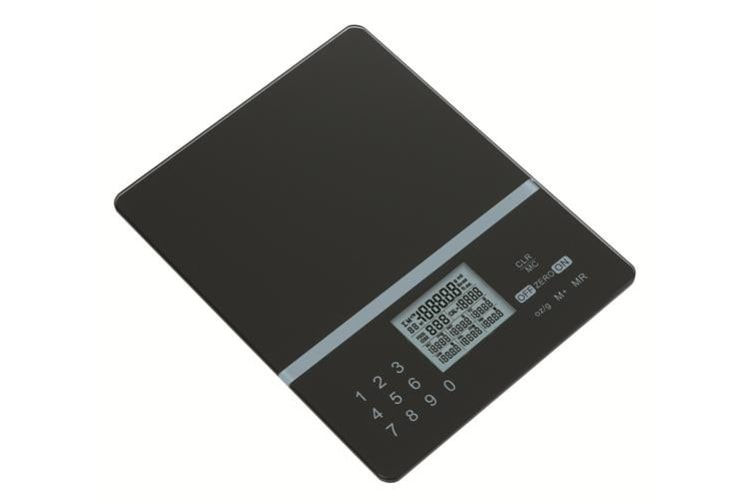 5kg Nutrition Kitchen Digital Scale LCD Electronic Balance Food Weight loss Scales black