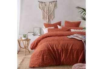 Betty Tobacco Quilt Cover Set King