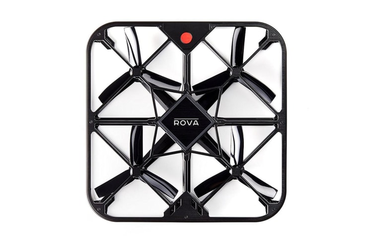 ROVA A10 Blk Flying Selfie Air Drone FHD Video Camera/12MP Photo for Smartphone