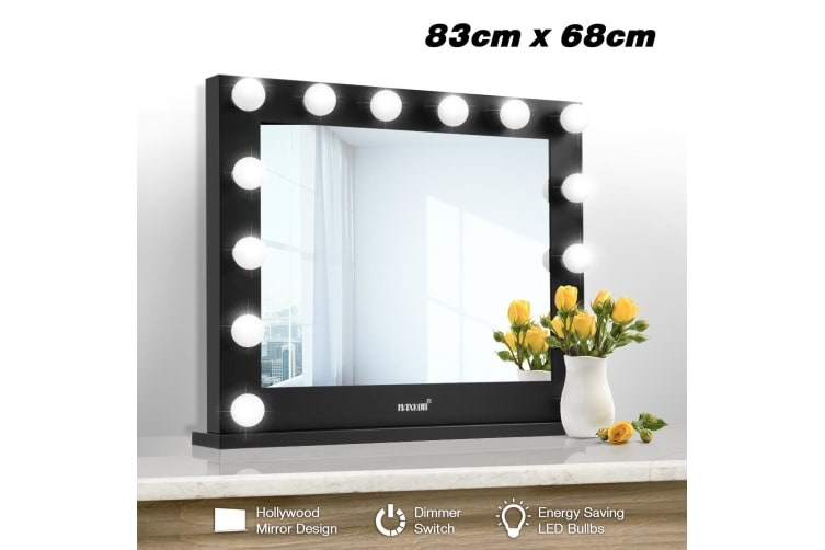 Dick Smith Maxkon Hollywood Style Makeup Mirror 14 Led