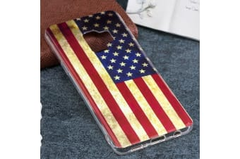 For Samsung Galaxy S9 Back Case Stylish US Flag Durable Flag Protective Cover
