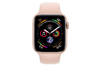Apple Watch Series 4 40mm GPS Gold Aluminium Case with Pink Sand Sport Band