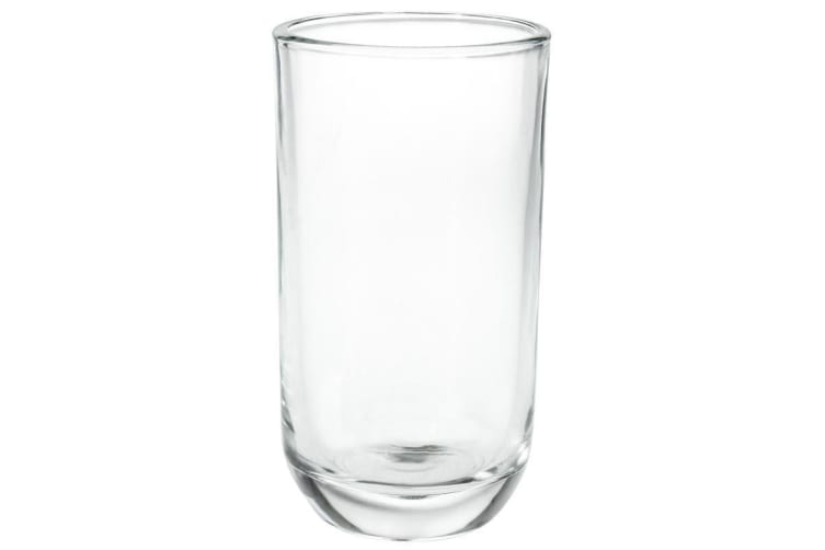 20 x Rounded Tumblers 250ml Clear Drinking Glasses Cups Restaurant Bar Tableware
