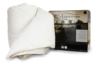Onkaparinga Australian Made Wool Quilt