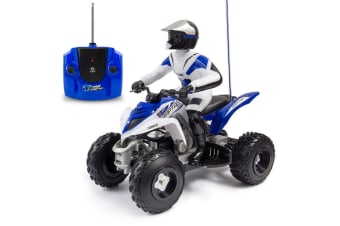 Yamaha Raptor 700R 1:6 RC Off Road Quad Moto-bike Bike/Kids/Toy/Blue