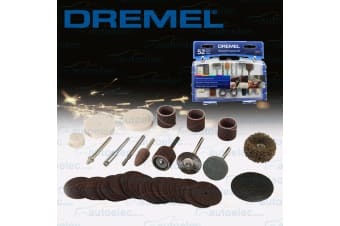 DREMEL 52 PIECE ROTARY MULTI TOOL GENERAL PURPOSE UNIVERSAL ACCESSORY KIT 687-01