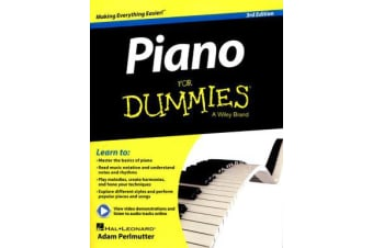 Piano For Dummies - Book + Online Video & Audio Instruction