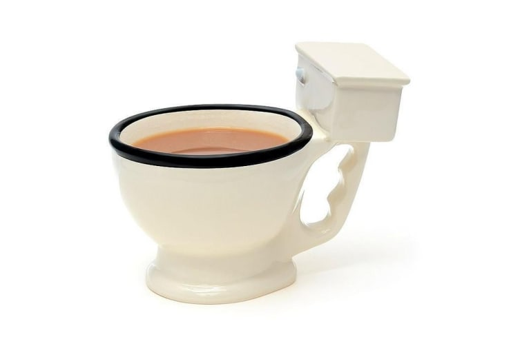 Toilet Ceramic Coffee Mug | wc fart dirty toilet dunny humour tea cup