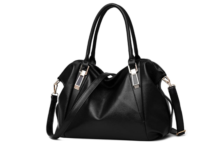 Women Top Handle Satchel Handbags Shoulder Bag Messenger Tote Bag Black