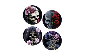 Requiem Collective 4 Piece Coaster Set (Multicoloured)