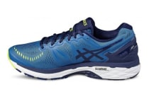 Asics Men's Gel-Kayano 23 (Thunder Blue/Safety Yellow/Indigo Blue)