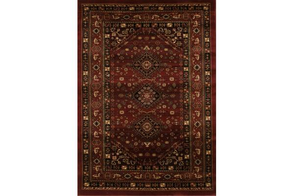 Traditional Shiraz Design Rug Burgundy Red 230x160cm
