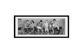 Friends Framed Picture (Grey)