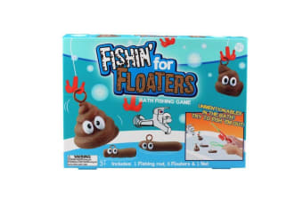 Fishing For Floaters - Gross Bath Game!