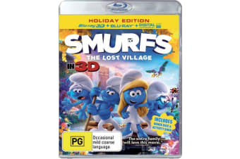 Smurfs The Lost Village 3D Edition with 2D Edition Digital Download Blu-ray