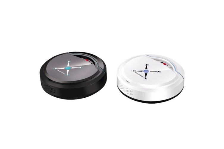 Fully Intelligent Charging Sweeping Robot Vacuum Cleaning Machine Black