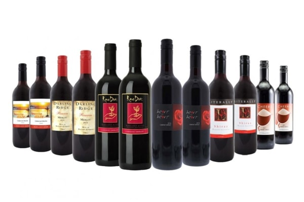 Exclusive Summer Margaret River Red Mixed Wine (12 Bottles)